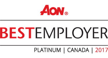 AON Best Employer - Platinum | Canada | 2017