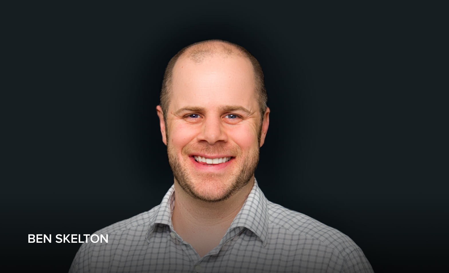 A headshot of Ben Skelton, Vice President