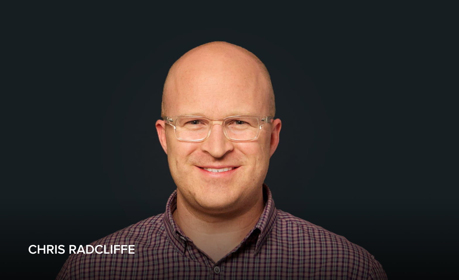 A headshot of Chris Radcliffe, Digital Workplace Advisor