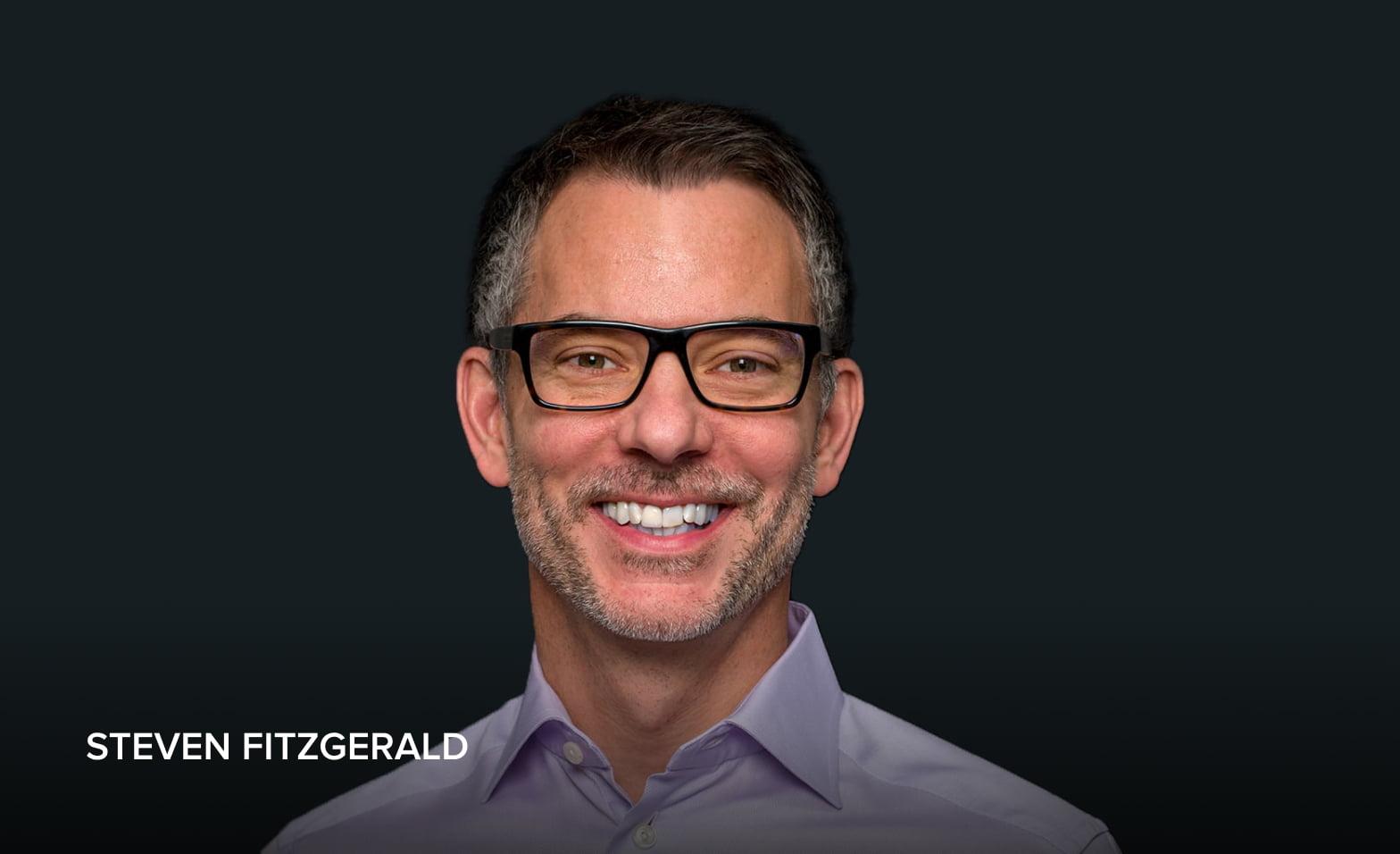 A headshot of Steven Fitzgerald, President